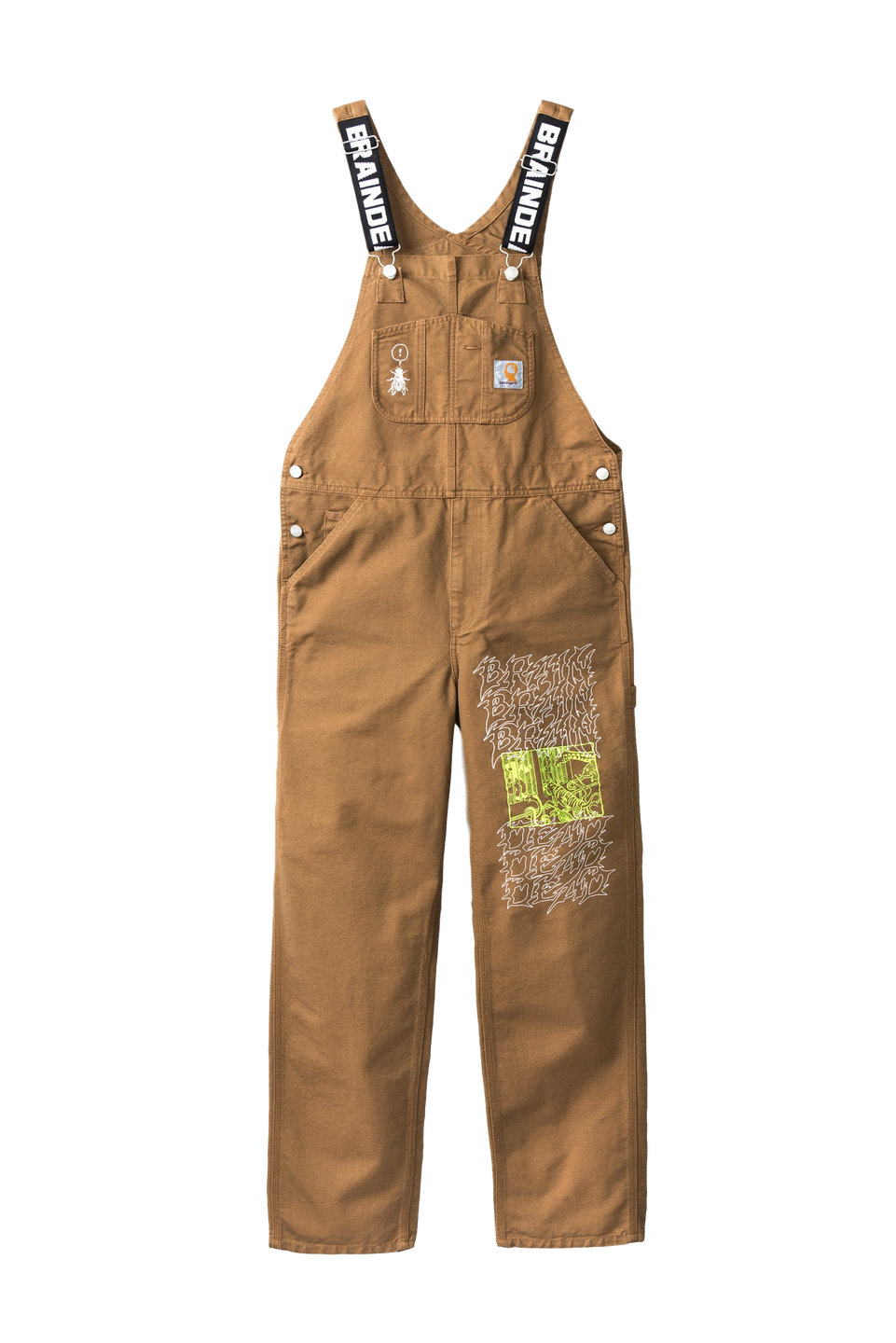 Bib Overall - brown