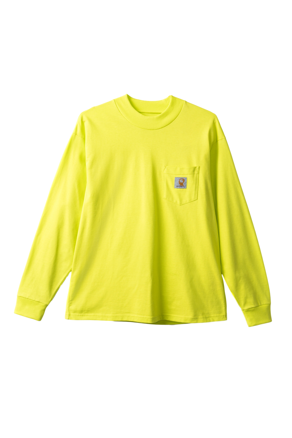 Swan Long Sleeve T-Shirt - LIME GREEN