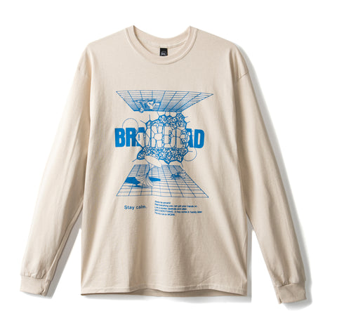 ORBIT LONG SLEEVE TEE - TAN