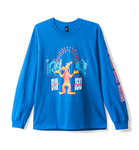 Human Being Long Sleeve TEE - ROYAL BLUE