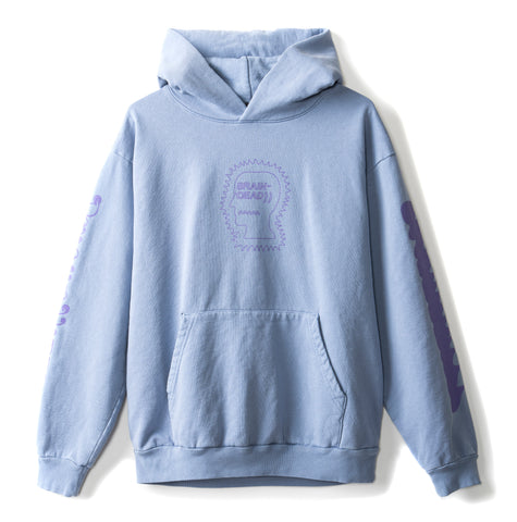 Psycho Hippie Hoodie - Washed Blueberry