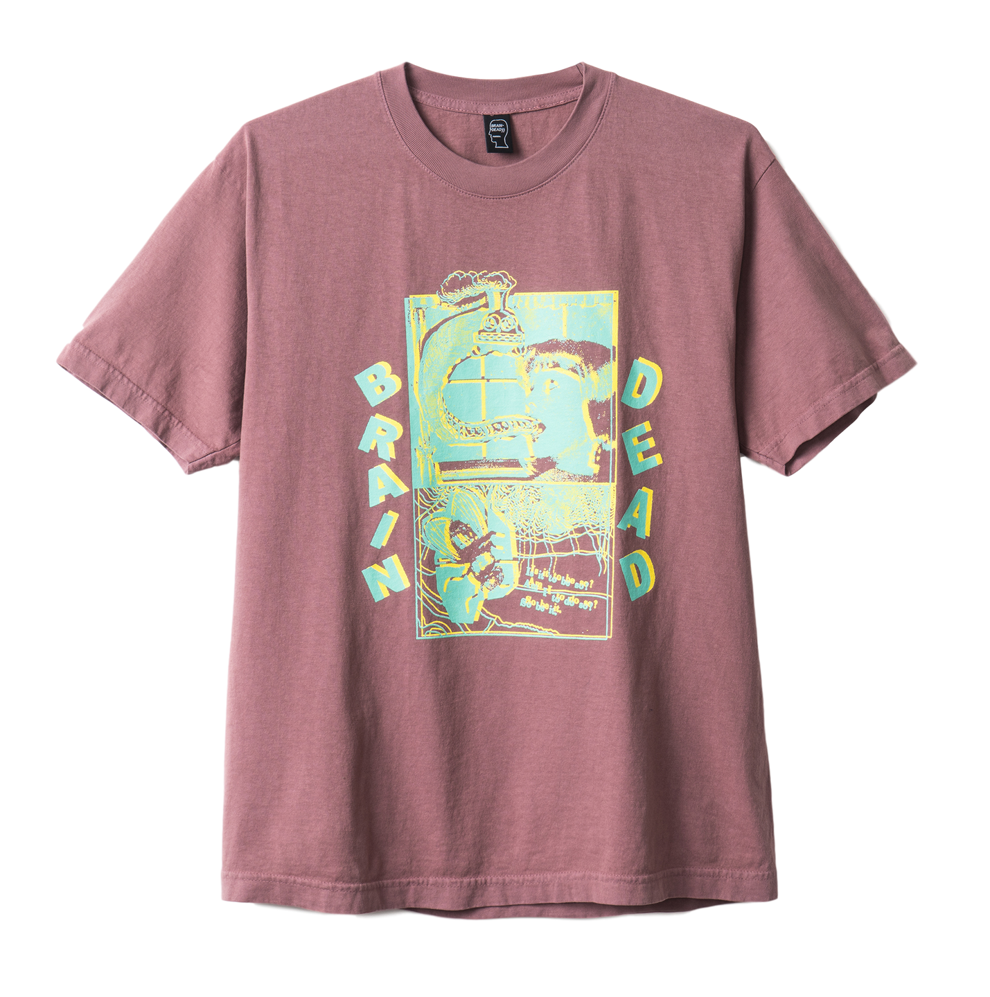 BD NIGHT TRAIN TEE - MAUVE
