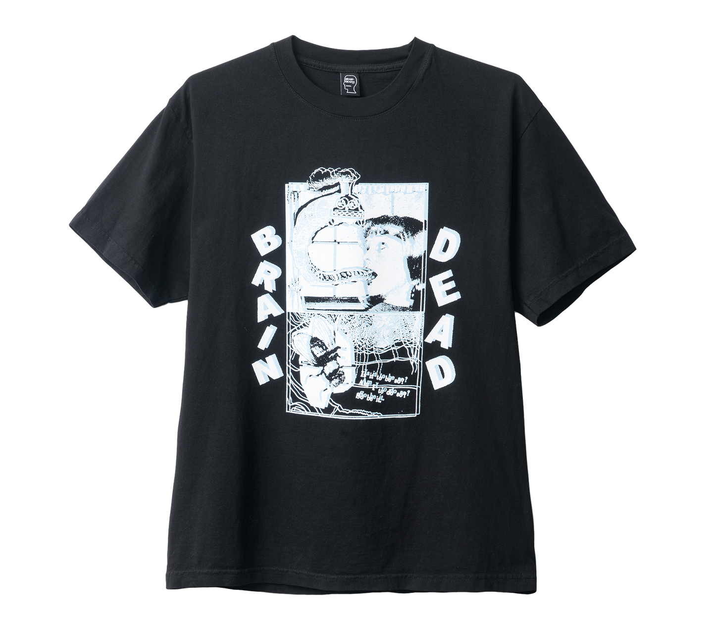 BD NIGHT TRAIN TEE - BLACK