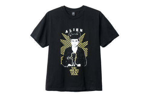 BD GIGER FAN TEE - BLACK