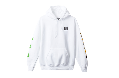BD BRAIN SLAM HOOD - WHITE