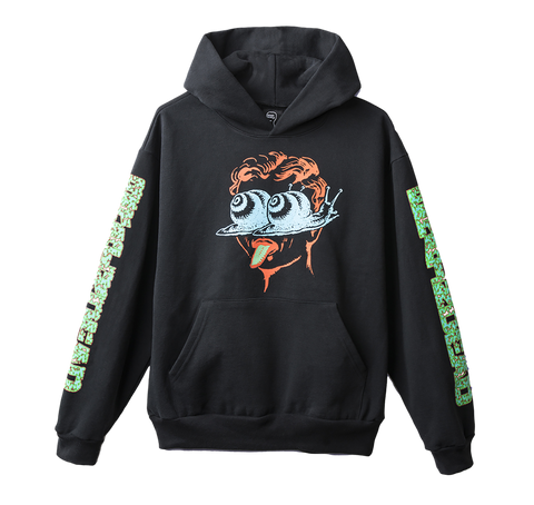 BD - SNAIL TRAIL HOODY! - BLACK