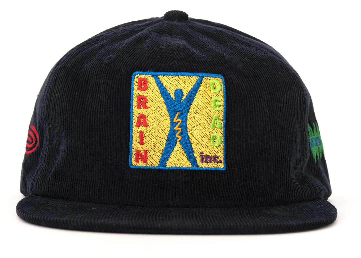 START UP CORDUROY HAT - BLACK