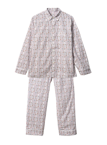 BD PYJAMA SET - WHITE