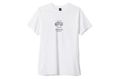 BD CLAY ARLINGTON PRISON TEE - WHITE