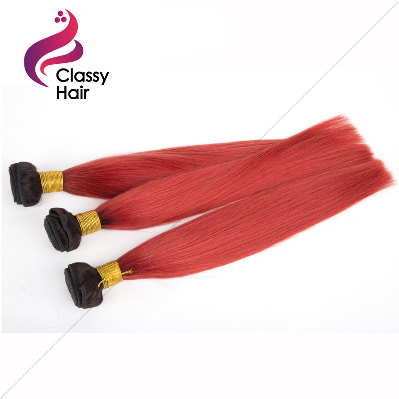 Extensions ombre red