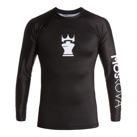 MOSKOVA TRAINING RASHGUARD BLACK/WHITE