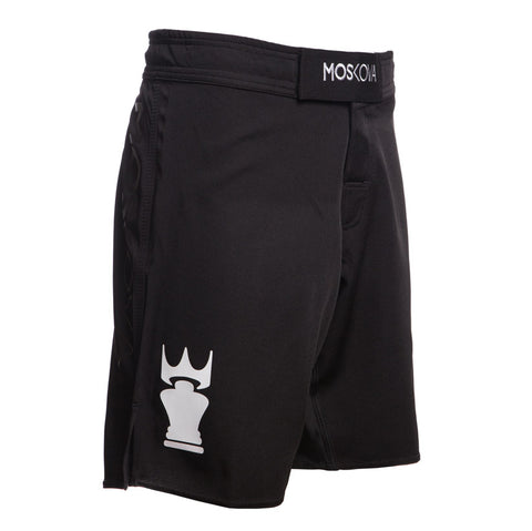 BLACK / WHITE TRAINING SHORTS