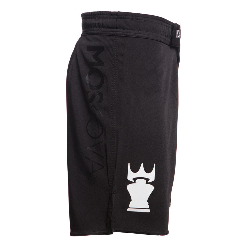 BLACK/WHITETRAININGSHORTS