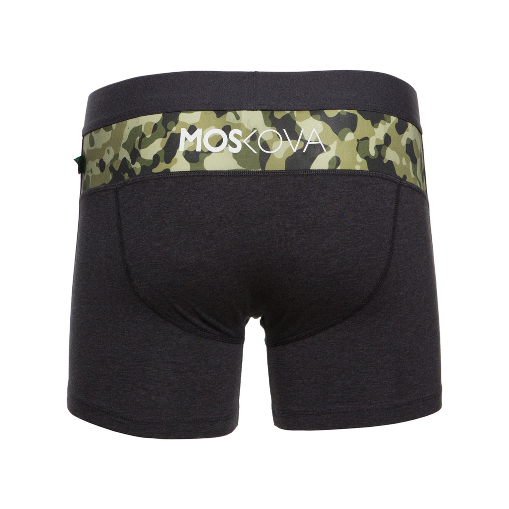 M2 Cotton Heather Black/Camo