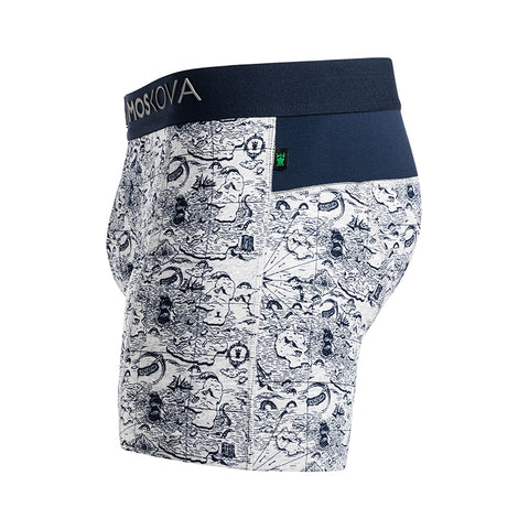 BOXER M2 COTTON - MAPG - MAP GREY
