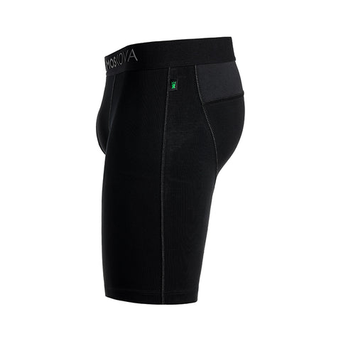 BOXER M2 LONG COTTON - PHANTOM BLACK