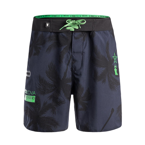 BROTHER TAHITI BOARD SHORTS BLACK/GREEN