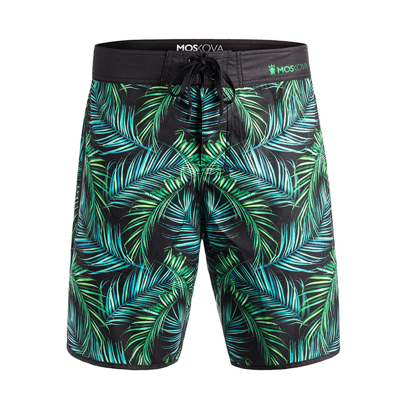TROPICAL PALM BOARD SHORTS