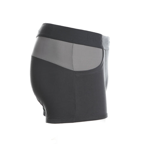 M6 Two-Tone Grey Boxer Brief