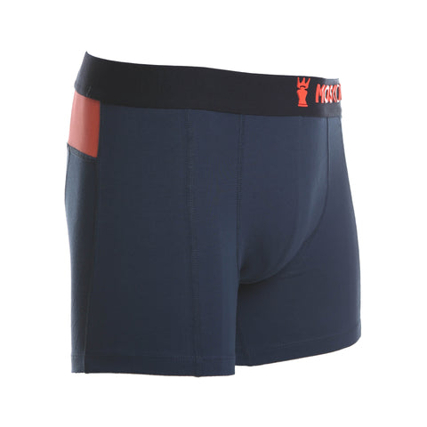 M2 Cotton Dark Denim Boxer Brief