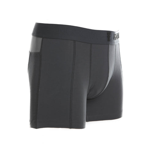 M2 Cotton Dark Grey Boxer Brief