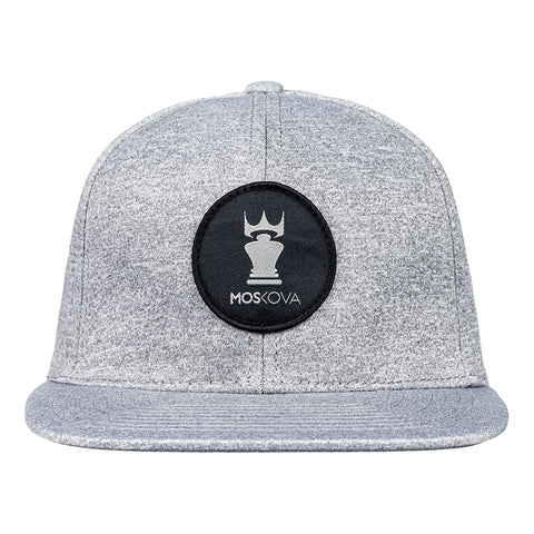 PATCH CROWN HAT GREY/BLACK