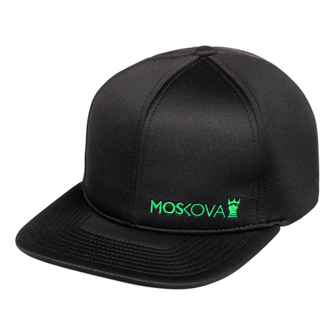 SIDE LOGO HAT BLACK/GREEN