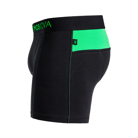 M2 COTTON BLACK/GREEN