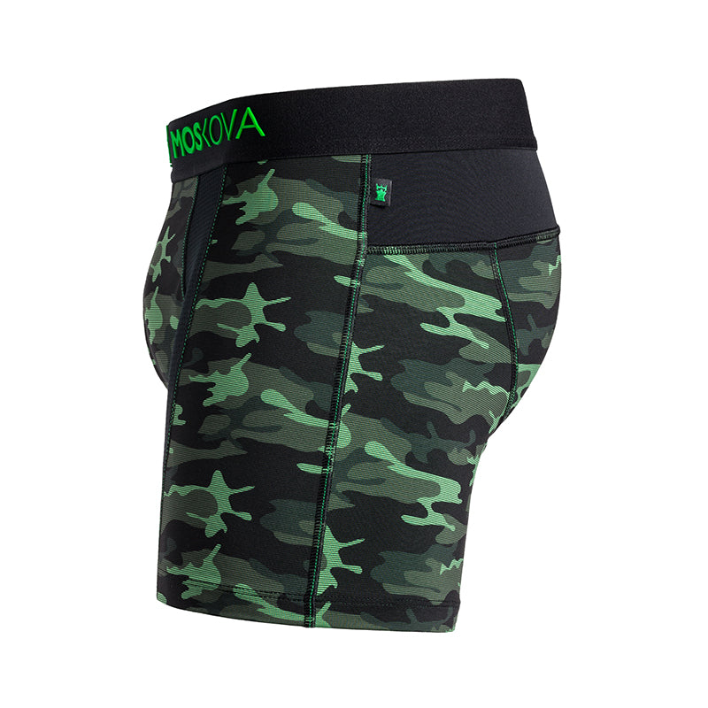 M2TECHSHORTCAMOGREEN