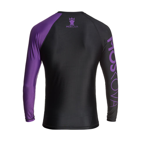 MOSKOVA RANK RASHGUARD  BLACK/PURPLE