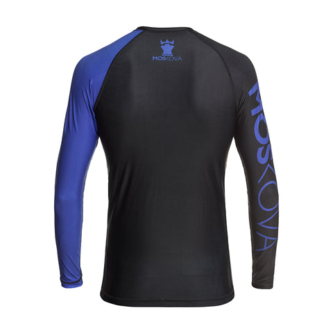 MOSKOVA RANK RASHGUARD  BLACK/BLUE