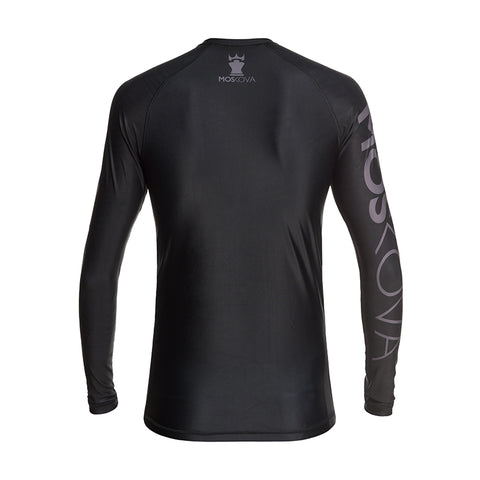 MOSKOVA TRAINING RASHGUARD  BLACK/GRAY