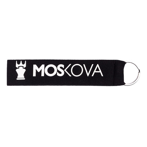 Black White Keyring