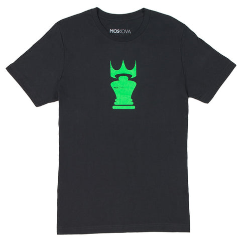 MOSKOVA CROWN TEE - BLACK