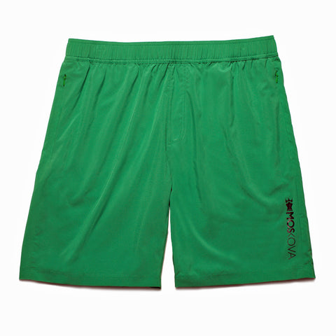 GYM SHORTS GREEN/BLACK