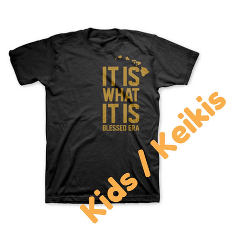 "KIDS MAX HOLLOWAY CHAMPION TEE ""IT IS WHAT IT IS"""