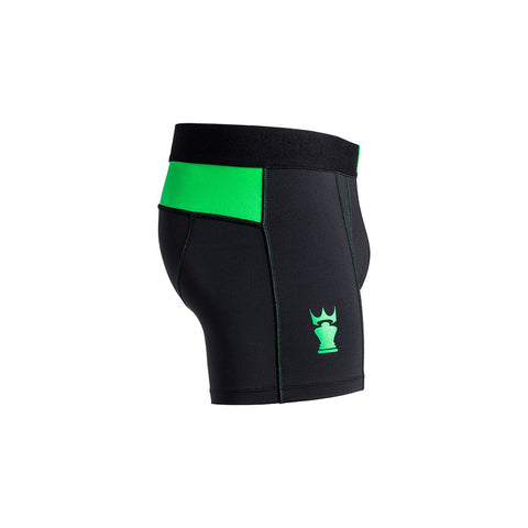 M2 TECH SHORT BLACK/GREEN