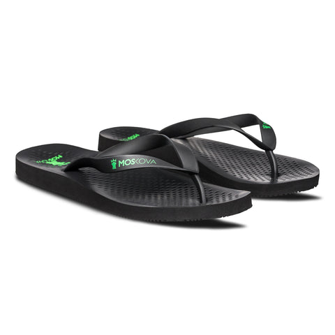 MOSKOVA S1 SUPPORT SANDALS -  BLACK GREEN