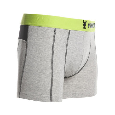 M2 Cotton Light Grey Heather Boxer Brief
