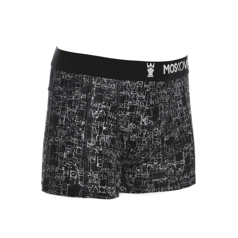 M2 Trainer Polyamide Miky Picon Black Boxer Brief