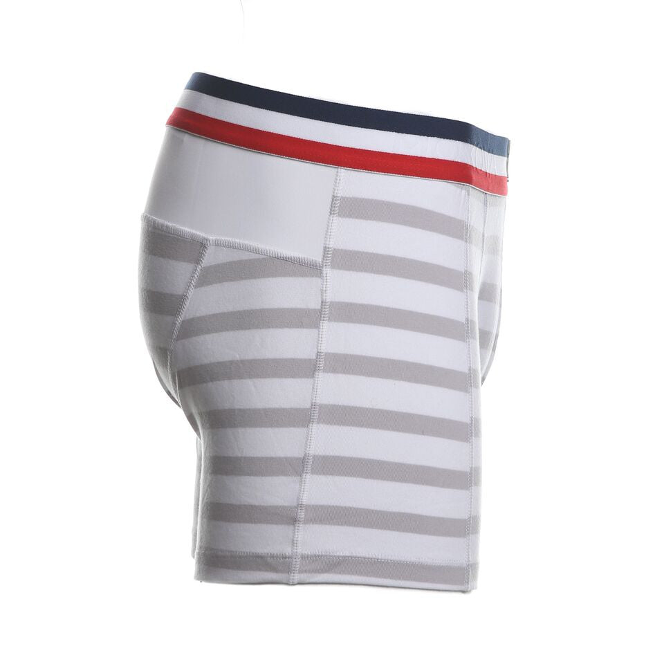 M2COTTONFLAGWHITE/GREYBOXERBRIEFS