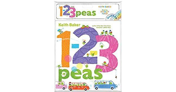 1 2 3 PEAS BOOK AND CD