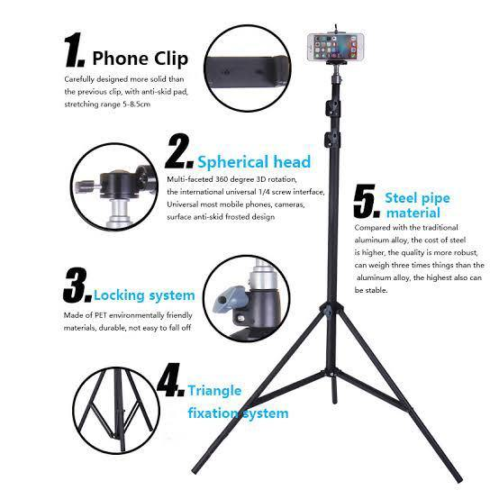 9ft Mobile Holding Tripod Stand