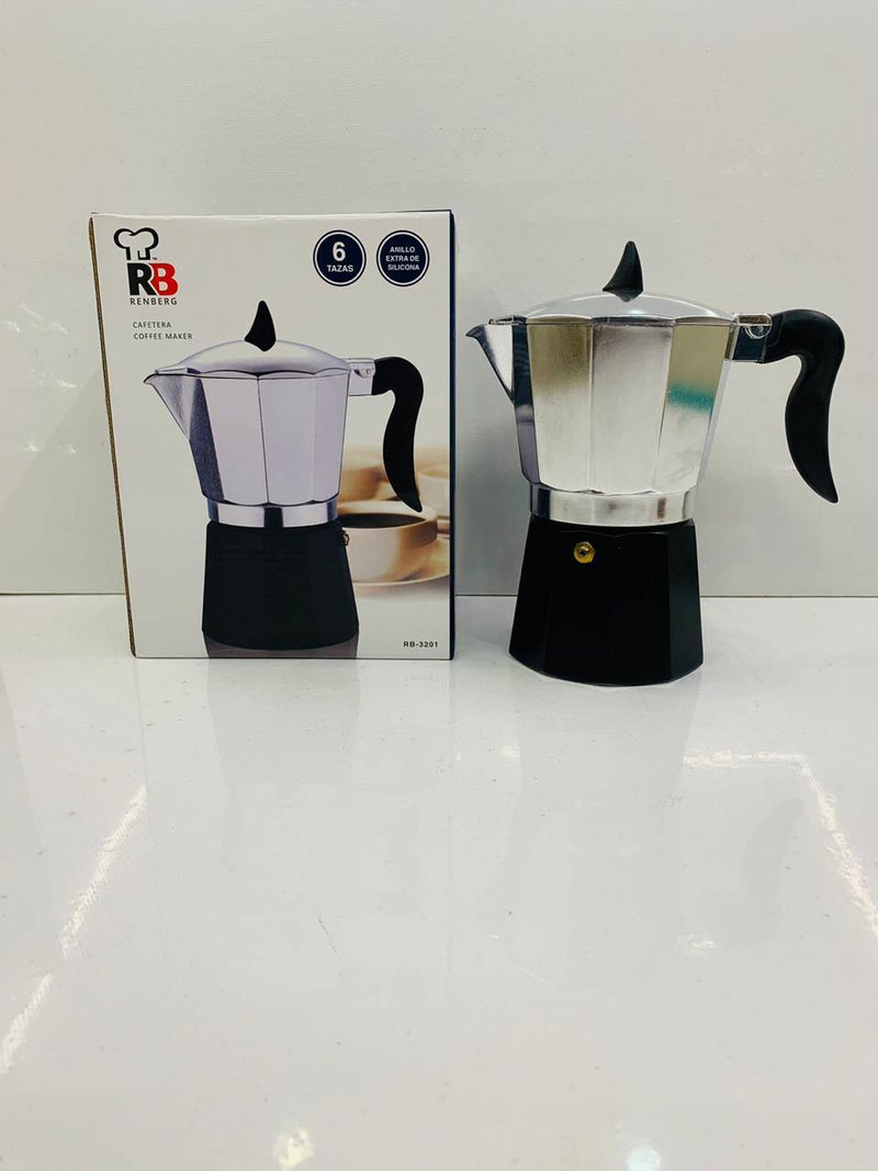 BERGNER COFFEE MAKER 3 CUP ALU