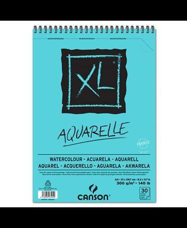 C400039170 CANSON XL WATERCOLOUR ALBUMS SPIRAL BOUND ON THE SHORTER SIDE COLD PRESS