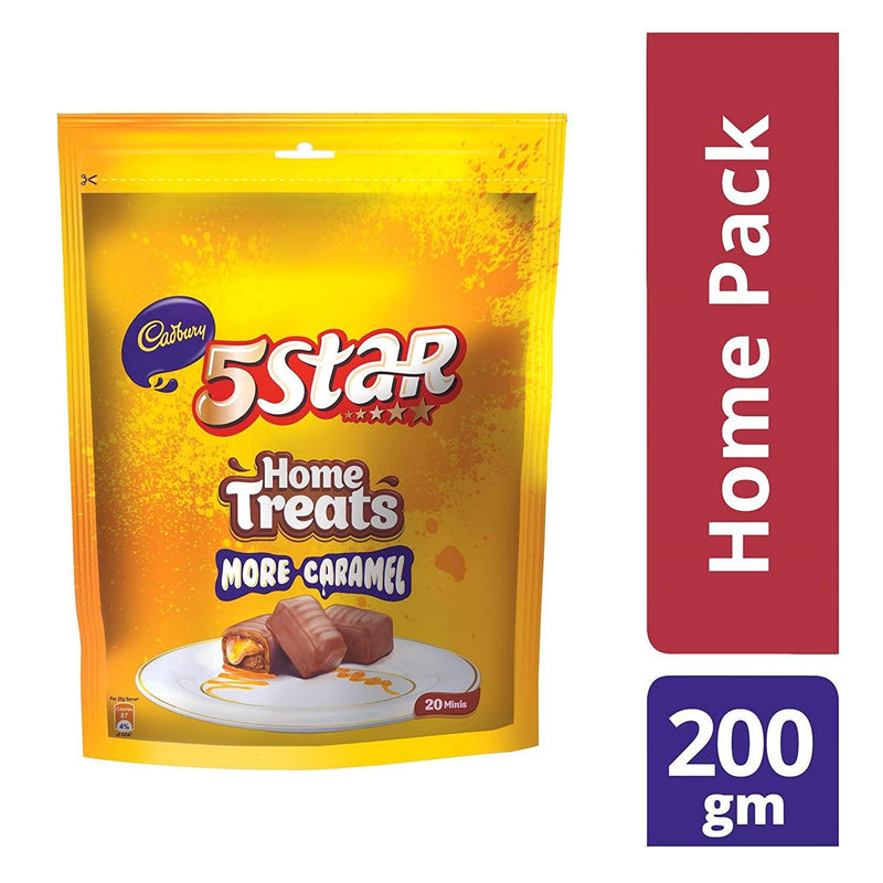 CADBURY FIVE STAR HOME TREATS 200G