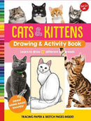 CATS AND KITTENS DRAWING AND ACTIVITY BOOK