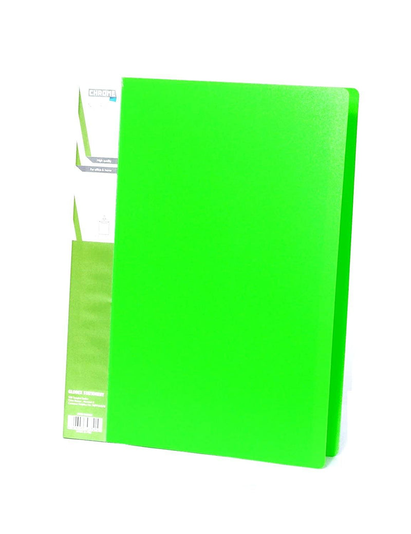 CHROME FILE VIVID COLOUR DISPLAY BOOK FC 40