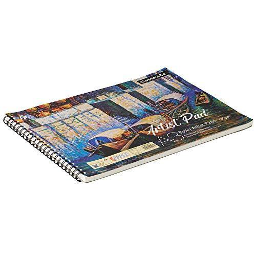 Classmate Drawing book A3 Bulky Artist Paper 130 GSM, 50 Sheets,