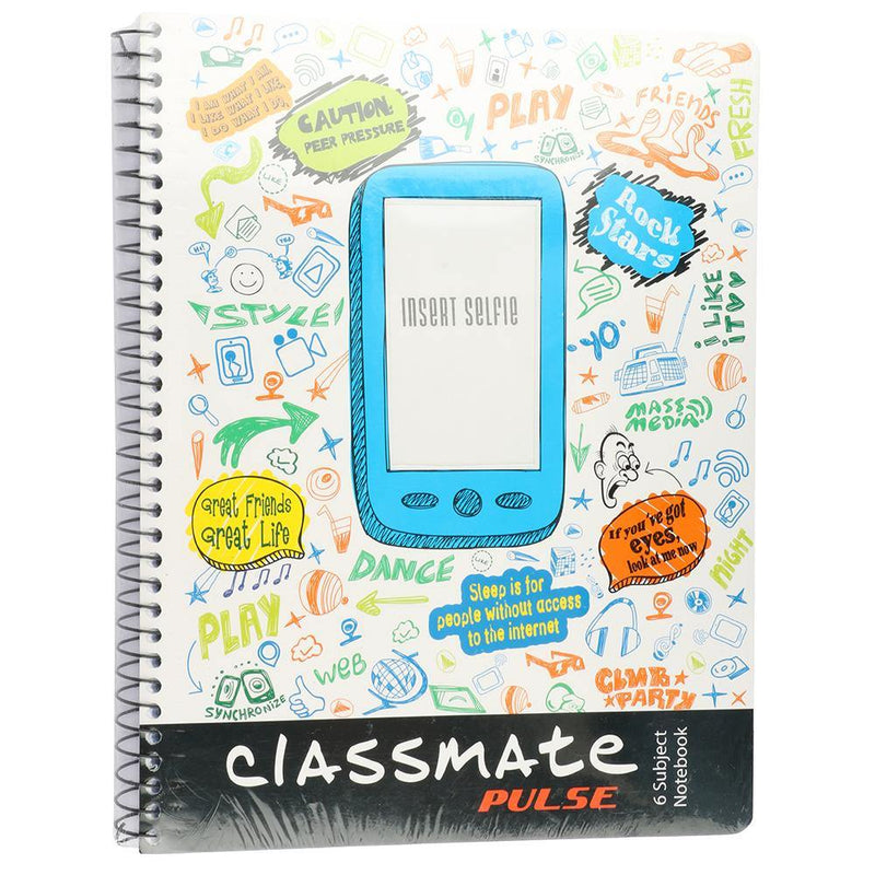 Classmate SELFIE 6 SUBJECT Note Book
